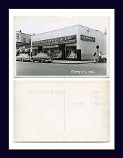 MICHIGAN CHEBOYGAN F W WOOLWORTH STORE REAL PHOTO KODAK BACK POSTCARD CIRCA 1950