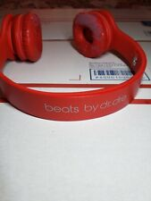 Beats by Dr. Dre Solo HD Wired On-Ear Headphones - Red