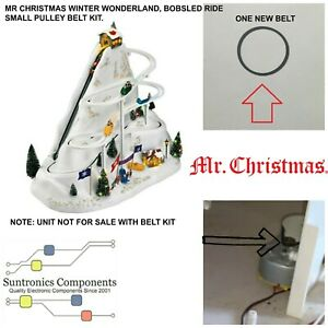 """MR CHRISTMAS """" Bobsled ride"""" -REPLACEMENT PART - PULLEY BELT"""