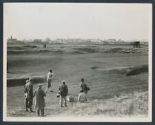 """1930 Roger Wethered and R.H. Oppenheimer, """"Match Game at the Rye Links"""" Photo"""