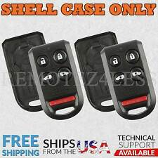 2 Replacement for Honda Odyssey Keyless Entry Remote Car Key Fob Shell Case 5br