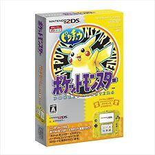 Nintendo 2DS Pokemon Pikachu Edition F/S JAPAN NEW