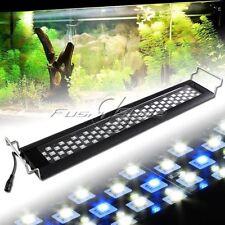 """90LEDs White Blue 0.5W LED Light Full Spectrum Aquarium Fish Tank Light 23""""-30"""""""