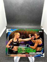 Rose Namajunas 2019 Topps Chrome UFC Knockout Image Variation REFRACTOR #UFCK-RN