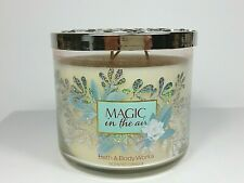 BATH BODY WORKS  MAGIC IN THE AIR  14.5 OZ   3 WICK CANDLE