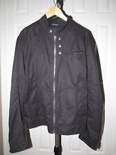 Hugo Boss Orus 2 Black Cotton zip up Jacket 46 R Mens