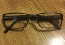 b20912117a7 JOSEPH ABBOUD Black Plastic   Metal Frame Eyeglasses Spring Hinges RX  55▫️17 EUC