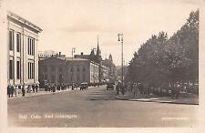 Oslo Karl Johansgate Strasse Autos Foto Postkarte um 1940