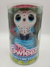 Owleez Teach Me To Fly Interactive Flying Blue Owl With Nest By Spin Master