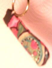 e-cig.& e-pipe Holder, e-pocket - Multi-colored w/ Yellow round hook