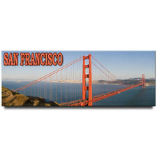 Golden Gate Bridge panoramic fridge magnet San Francisco souvenir California