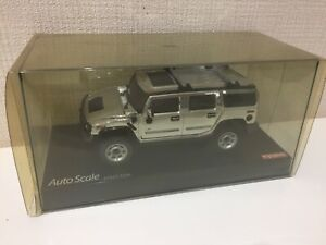 OLD Kyosho MINI-Z Racer Over Land Body GM HUMMER H2 Chrome from Japan F/S