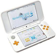 Nintendo 2DS XL Bianco/arancione Importación italiana
