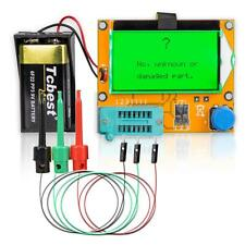 3× Mega328 Esr Transistor Resistor Diode Capacitor Mosfet Tester W/ Test Hook #W