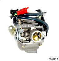 24mm Carburetor for 125cc 150cc GY6 Kazuma Redcat Scooters Moped Go Karts ATV E2