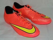Nike Mercurial Victory V IC Indoor Turf Boots Mens 12.5 US 651635 690 Punch Gold
