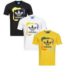 Adidas T-Shirt Herren Shirts Graffiti Trefoil Tee NEU