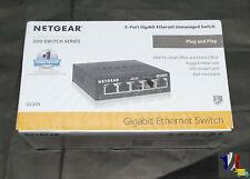 Netgear Gs105 Switch Ethernet Métal 5 ports Gigabit