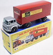 Matchbox #M-2 Articulated Freight Truck, Bpw, Red Cab Near Mint W/ Exc Box