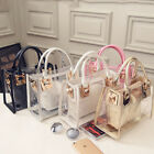 2in 1 Women's Transparent Bucket PVC Handbag Clear Jelly Shoulder Bag Purse Hot