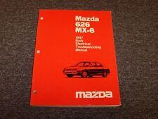 1997 Mazda 626 Sedan MX6 Coupe Body Electrical Wiring Diagram Manual LS DX ES LX