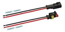 AMP Superseal Set Steckverbinder 2-polig 1,50² Stecker Kabel Elektrik KFZ LKW