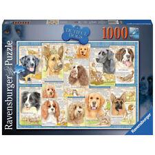 Ravensburger Dutiful Dogs 1000 Piece Jigsaw Puzzle