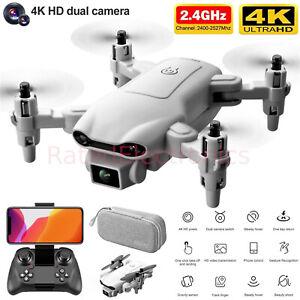 Professional 4DRC Mini Selfie Drone WIFI FPV Dual HD Camera Foldable Quadcopter