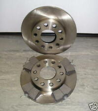 AUDI A4 REAR BRAKE DISCS AND PADS 245mm 2001 - 2008 NEW COATED DESIGN