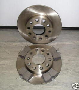 AUDI A4 REAR BRAKE DISCS AND PADS 245mm 2001 - 2008