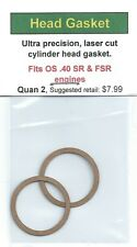 OS .40 SR & OS .40 FSR Cylinder Head Gasket 2 Pack NIP