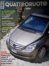 Quattroruote 597 2005 Prove Mercedes ClasseB. Citroen C1 sfida Panda [Q74]