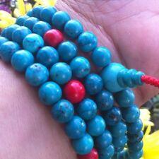 TIBETAN TURQUOISE MALA GODDES HEALING AND BEAUTY YOGA