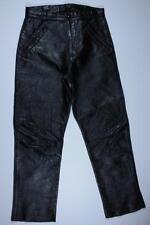 60s Vintage Bates Motorcycle Biker Racing Racer Steerhide Leather Pants 30 X 30