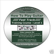 How To Play Guitar Fast Track Level 1 and 2 (Left Hand)