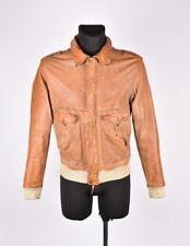 GF FERRE Hommes Veste en cuir taille L, authentique