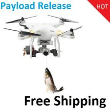 Payload Release for DJI Drone Phantom 3A/3P into Fishing Drone - Color Gray