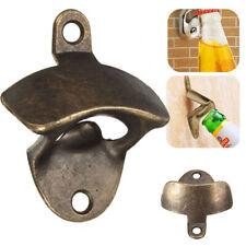 Retro Kitchen Tools Cast Iron Wall Mount Bottle Open Rustic Beer Opener Bronze