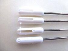 "RC Pushrod 8""  200mm  Push Rod M2 Threaded WITH Clevis x 4"