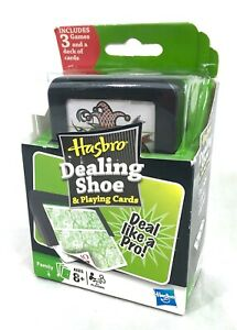 Hasbro Dealing Shoe and Playing Cards - SEALED #B12