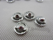 16 Beyblade Metal Performance Tips Parts, Silver Pack, Lot, Hot - FREE SHIPPING