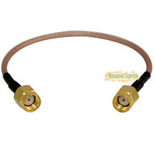 RF Coax RP-SMA Male to RP SMA Male Extension Pigtail Cable Connector RG316 15cm