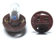 Lot of 4 Wagner PC74S T5 dark brown socket instrument panel bulb TOYOTA
