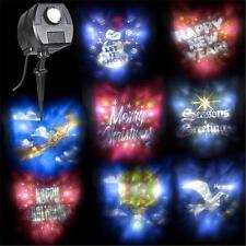 SEE VIDEO ANIMATED CHRISTMAS HOLIDAY LIGHT SHOW PROJECTOR Outdoor Decoration