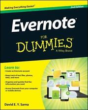 Evernote for Dummies by David E. Y. Sarna (2014, Paperback)