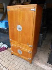 Ancienne étuve de laboratoire 1950 meuble de mètier meuble industriel