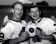 Bobby Hull, Stan Mikita Chicago Black Hawks 8x10 Photo