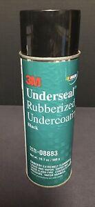 3M Underseal™ Rubberized Undercoating 08883- Black 19.7 oz Net Wt New