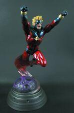 Captain Marvel Classic Action statue~Bowen Designs~Avengers~Infinity War~NIB