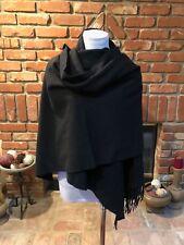 BoHo CHIC Super Large 90 x 29 Black Versatile Fringe åçScarf Wrap Shawl Cover